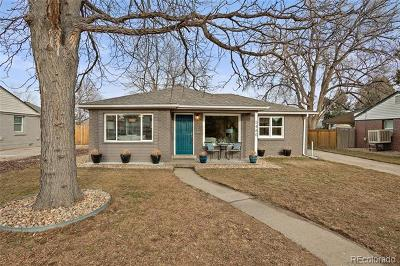 Arvada Single Family Home Active: 5480 Dudley Court