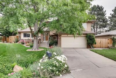 Denver Single Family Home Active: 7635 East Amherst Avenue