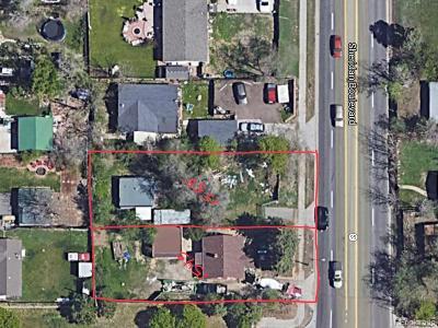Lakewood Residential Lots & Land Active: 1555 Sheridan Boulevard