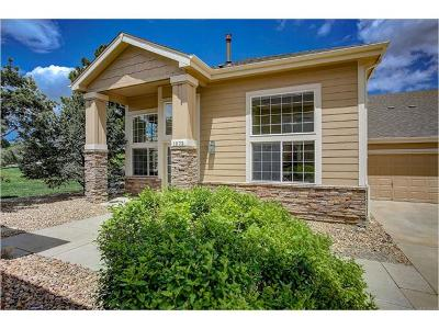 Castle Pines Condo/Townhouse Sold: 1373 Pineridge Court