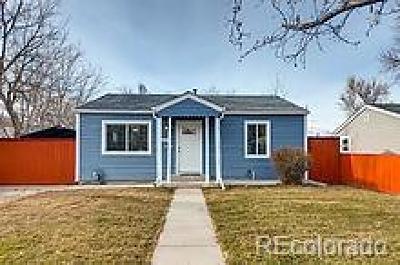Denver Single Family Home Active: 1743 Wabash Street