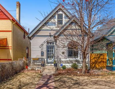 Denver Single Family Home Active: 241 West 3rd Avenue