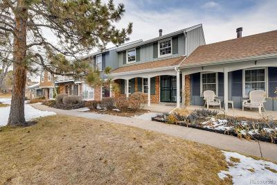 Denver Condo/Townhouse Active: 9032 East Amherst Drive #E