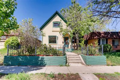 Denver Single Family Home Under Contract: 1451 Knox Court