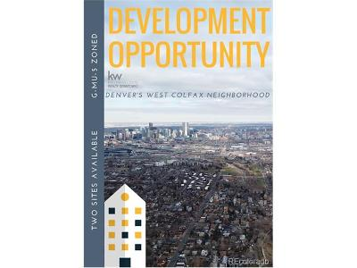 Denver Residential Lots & Land Active: Yates
