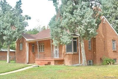 Park Hill, Parkhill Single Family Home Active: 4625 East 29th Avenue