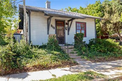 Boulder County Single Family Home Active: 928 Grandview Avenue