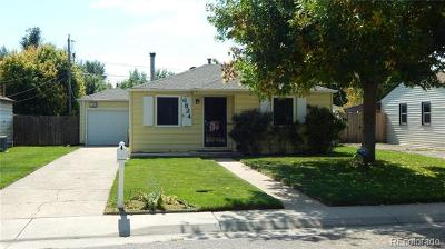 Arvada Single Family Home Active: 6824 Reno Drive