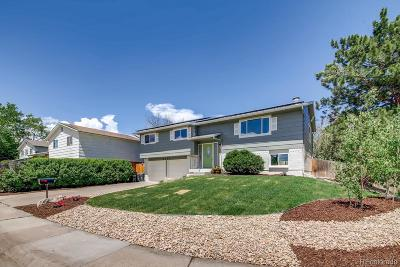 Littleton Single Family Home Under Contract: 6285 South Flower Way