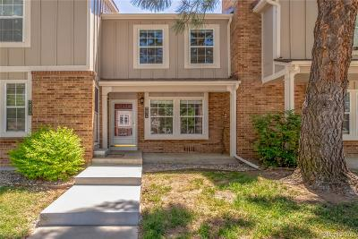 Littleton Condo/Townhouse Active: 9697 West Chatfield Avenue #F