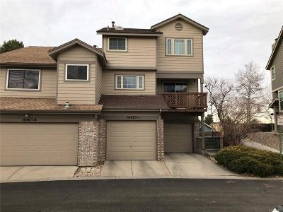Arvada Condo/Townhouse Under Contract: 10463 West 83rd Avenue #A