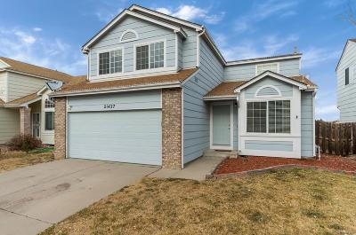 Denver Single Family Home Under Contract: 21427 East 44th Avenue