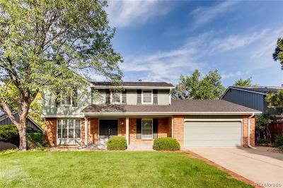 Centennial CO Single Family Home Under Contract: $624,900