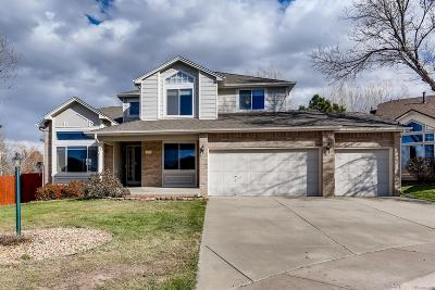Centennial Single Family Home Under Contract: 5254 South Espana Street