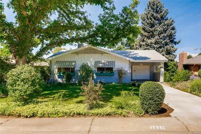 Denver Single Family Home Active: 3435 South Ash Street