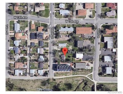 Denver Residential Lots & Land Active: 1250 Xavier Street