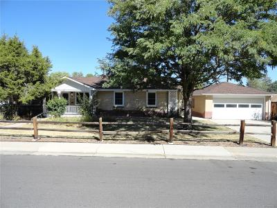 Lakewood Single Family Home Under Contract: 490 South Marshall Street