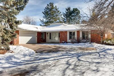Littleton Single Family Home Under Contract: 5880 West Quarles Drive