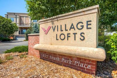 Greenwood Village Condo/Townhouse Active: 5677 South Park Place #110B