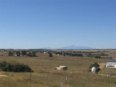 Kiowa CO Residential Lots & Land Active: $139,900