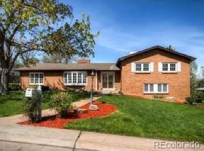 Wheat Ridge Single Family Home Under Contract: 3825 Hoyt Street