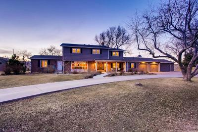 Golden, Lakewood, Arvada, Evergreen, Morrison Single Family Home Under Contract: 11039 West Bear Creek Drive