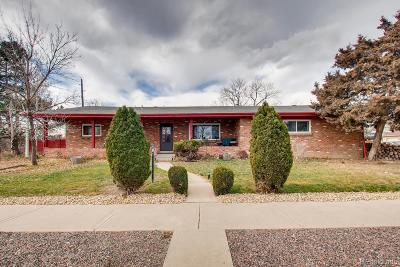 Broomfield Single Family Home Active: 100 West 3rd Avenue Drive