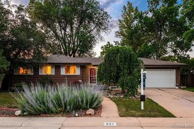 Centennial Single Family Home Active: 821 East Applewood Avenue