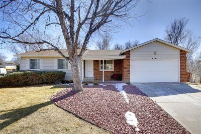 Centennial Single Family Home Under Contract: 6886 South Spruce Street