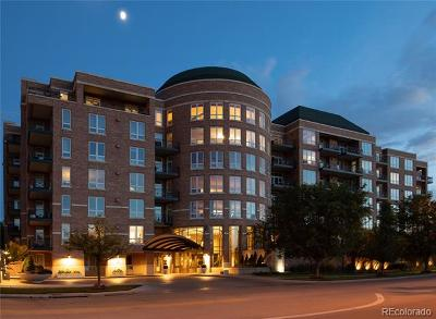 Denver Condo/Townhouse Active: 2400 East Cherry Creek South Drive #701