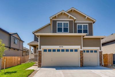 Commerce City Single Family Home Under Contract: 16256 East 101st Way