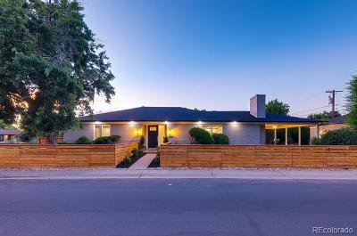 Denver Single Family Home Active: 6303 East Dakota Avenue