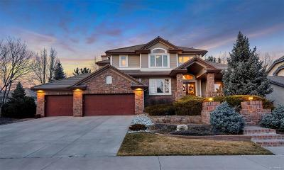 Lone Tree Single Family Home Under Contract: 9262 East Hidden Hill Court
