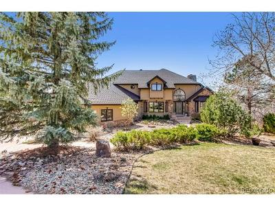 Castle Rock CO Single Family Home Active: $875,000