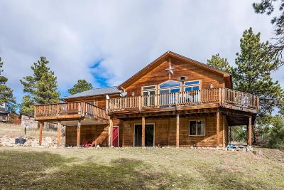 Bailey Single Family Home Under Contract: 528 Bob Cat Trail