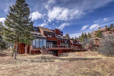 Larkspur CO Single Family Home Under Contract: $699,900