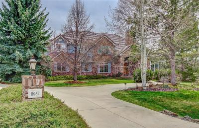 Niwot Single Family Home Under Contract: 8052 Bellflower Court