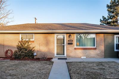 Wheat Ridge Single Family Home Under Contract: 4720 Cody Street
