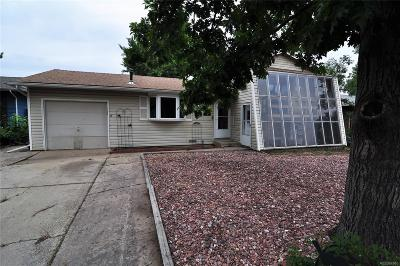 Golden Single Family Home Under Contract: 18759 West 60th Avenue