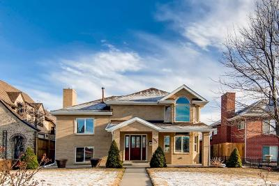 Denver Single Family Home Under Contract: 3917 East 26th Avenue Parkway