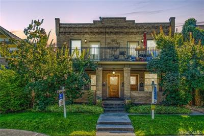 Denver Condo/Townhouse Active: 1418 Milwaukee Street #5