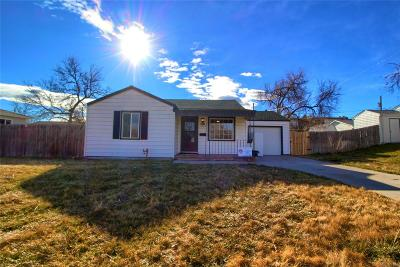 Wheat Ridge Single Family Home Under Contract: 6390 West 45th Avenue