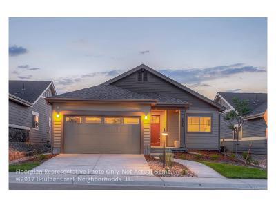 Longmont Single Family Home Active: 830 Widgeon Drive