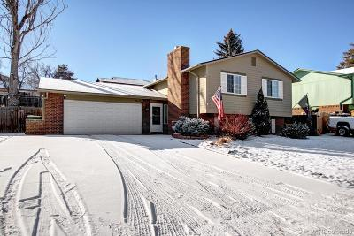 Littleton Single Family Home Under Contract: 7912 West Quarto Drive