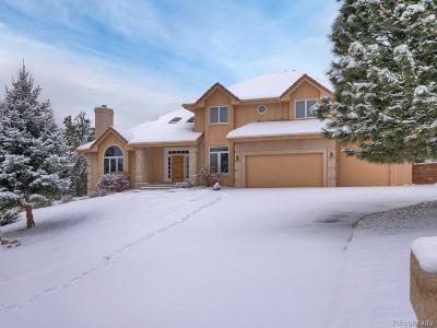 Colorado Springs Single Family Home Active: 2585 Tamora Way
