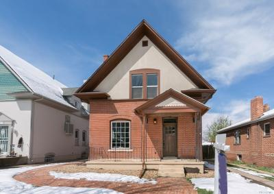 Denver Single Family Home Active: 2067 South Pearl Street