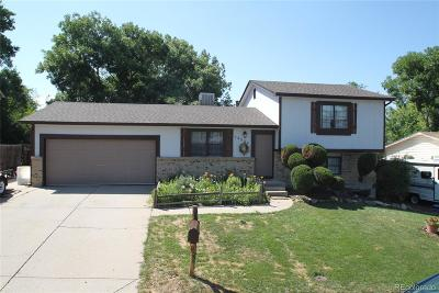 Westminster Single Family Home Active: 10527 Pierson Circle