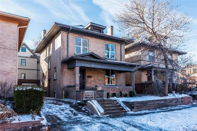 Denver Single Family Home Under Contract: 1724 East 22nd Avenue
