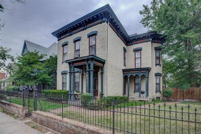 Denver Single Family Home Active: 2535 Champa Street