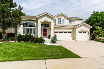 Highlands Ranch Single Family Home Active: 10435 Colby Canyon Drive